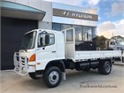 Hino GT 4x4 Table / Tray Top Drop Sides