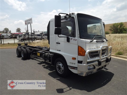 2013 Hino FD1124 Cross Country Trucks Pty Ltd - Trucks for Sale