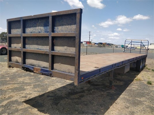 2005 Ophee Flat Top Trailer - Trailers for Sale