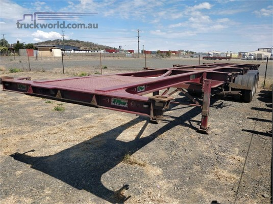 2009 Ophee Skeletal Trailer Wheellink - Trailers for Sale