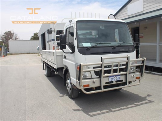 2010 Mitsubishi Fuso Canter Fe85 Catalano Truck And Equipment Sales And Hire - Trucks for Sale