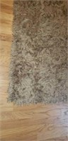 Pier 1 Area Rug with Plush Fringe