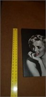 Marilyn Monroe Print on Canvas