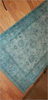 Pier 1 Imports Antique Style Blue Rug
