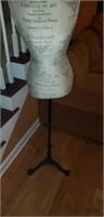 Decorative Dress Form on Metal Stand