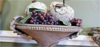Beautiful Decorative Bowl of Fruit