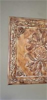 Pair of Beautiful Square Metal Wall Decor Pieces