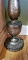 Large Beautiful Bronze Colored Candle Holder