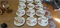 20 pc Pier 1 Imports Park Avenue Puppies China