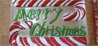 Lot of 5 Beautiful Glass Christmas Trays