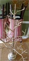 Pretty Gold Colored Decorative Tree
