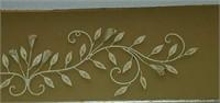 Beautiful Metal Floral Decorative Wall Art