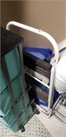Huge lot of lenins, a pillow, vacuum, step ladder