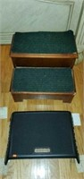Lot of Wooden Steps and More