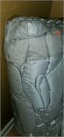 Two Bags of Very Nice Gray Palais Royale Bedding