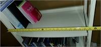 White 5 Shelf Cabinet