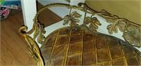 Large Beautiful Metal Decorative Tray
