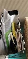 Estate shelf of hair accessories, ect