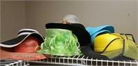 Lot of sun hats