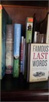 Estate shelf of books