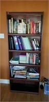 5 tier wood shelf