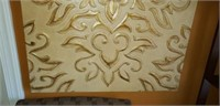 Beautiful gold color wall decor