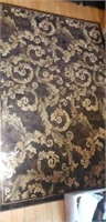 Beautiful 7' x 5' brown rug