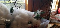 Cotton made snowman