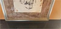 Framed dog portrait #3