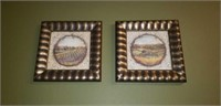 Pair of small decor pictures