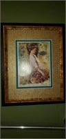 Beautiful framed print of a painting