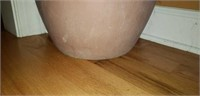 Beautiful clay pottery planter