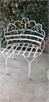 Nice Iron Architectural Outdoor Chair