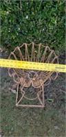 Vintage Outdoor Iron Plantstand