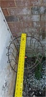 Tall Outdoor Iron Architectural Plantstand