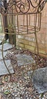 Outdoor Iron Architectural Plantstand