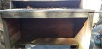 Outdoor Primitive Distressed Bar & Metal Shark