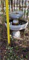 Two Tier Plastic Fountain