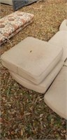Lot of 7 Outdoor Furniture Cushions