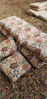 4 Outdoor Furniture Cushions Floral