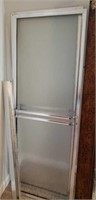 Regular size shower door