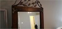 Very beautiful large metal frame mirror