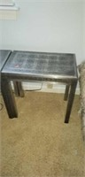 Pair of 2 small side tables