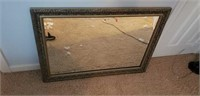 Beautiful medium sized beveled glass mirror
