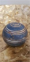 Shell decorator bowl from Vietnam with decor