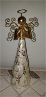 Lot of 5 Angel Christmas tree toppers