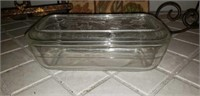 Iron Cookbook stand, plate holder, clear dish