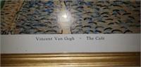 Metal floral wall hanger Vincent van Gogh the