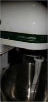 Limited edition green stripe kitchen aid mixer