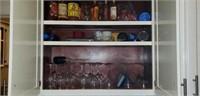 Estate Kitchen Lot Wine Glasses & More